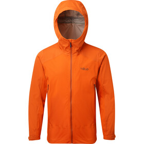 Rab Kinetic Veste Alpine Homme, firecracker